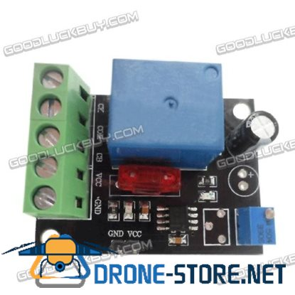 DC12V Adjustable 1-50s Time Delay Starter Module Time Delay Relay Module
