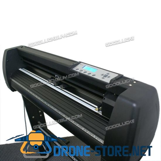 New MH721 Refine Vinyl Cutter Plotter Sign Writing Cutting Carving Machine Black