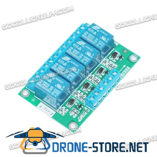 4 Channel 5V Remote Control Switch Relay High Level Trigger Relay-4-H-5V