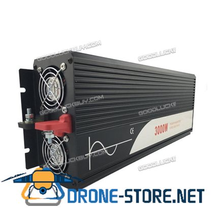 3000W DC 48V to AC 220V/110V Car Converter Pure Sine Wave Power Inverter