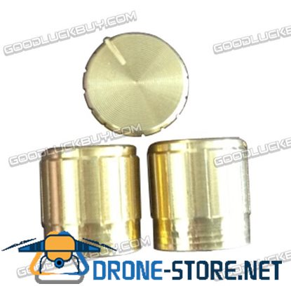 Gold Potentiometer Rotation Knob 15*17mm 10pcs/Pack