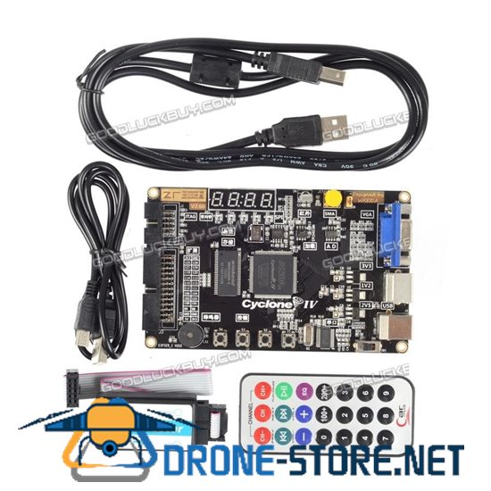 Altera Cyclone IV FPGA Learning Board EP4CE6E22C8N and USB Blaster Programmer