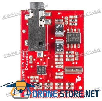 Si4703 FM Tuner Evaluation Board for MP3 Phone Radio