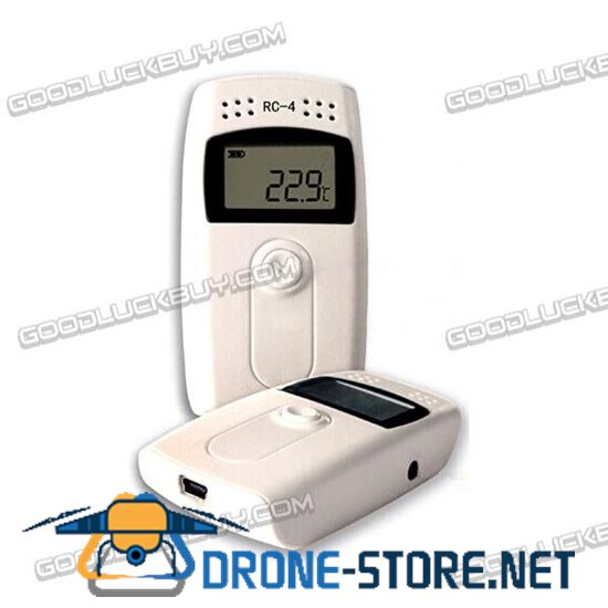 Youkong RC-4 USB Temperature Data Logger Datalogger Recorder with Sensor 16000 Points