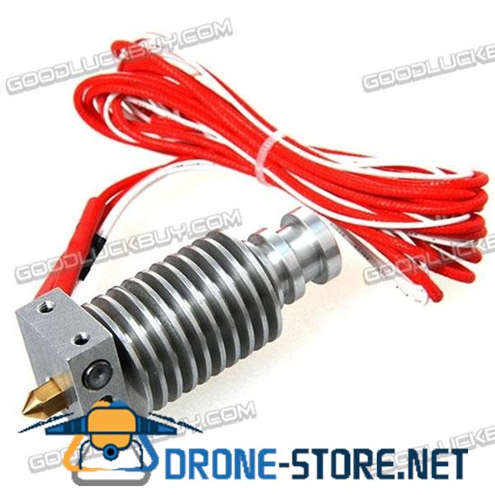 3D Printer Part J-head Metal Extruder Set E3D Extruder 3.0mm Filament