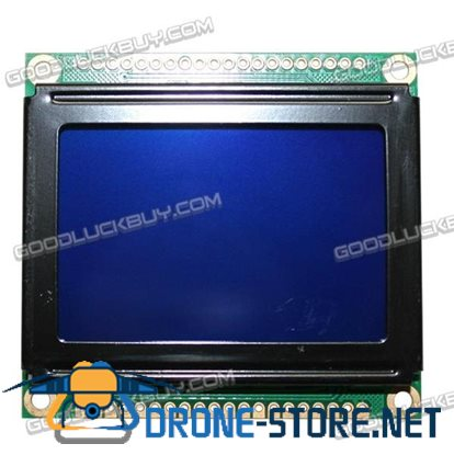 LCM12864S LCD Screen Display Module w/Chinese Character Library 78*70 Lattice Screen 5V
