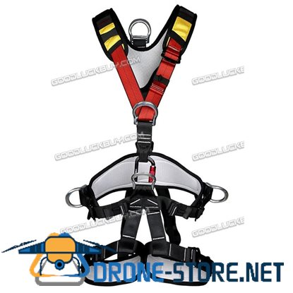 Fall Arrest Protection Rock Tree Climbing Full Body Safety Harness Equipment
