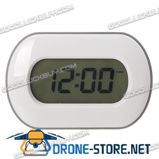 "Motion Activated Backlit 3"" LCD Digital Alarm Clock + Calendar + Thermometer + Timer"