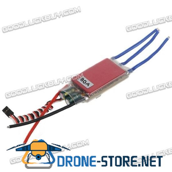 Polaris Thunder 80A 6S ESC with 5A BEC for Brushless Motor
