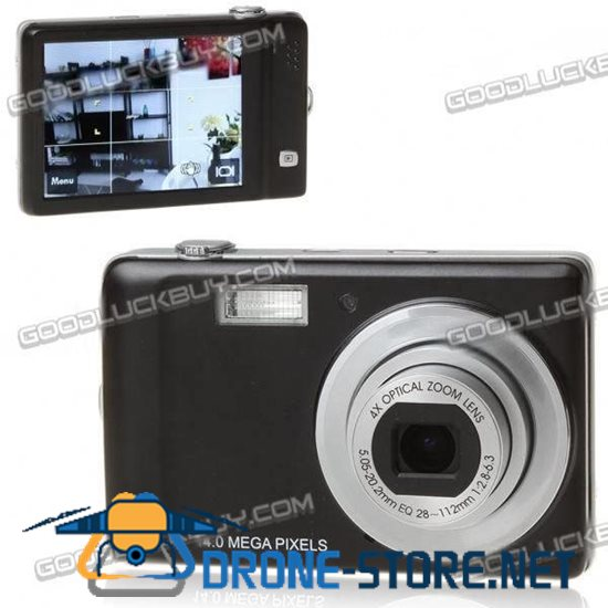 """DC-L140T 3.0"""" Touch Screen CCD Digital Camera with 4X Digital Zoom"""