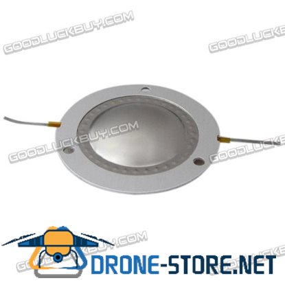 44.4 mm Flat Copper-clad Aluminum Wire Dome Diaphragm Tweeter Voice Coil Titanium Film