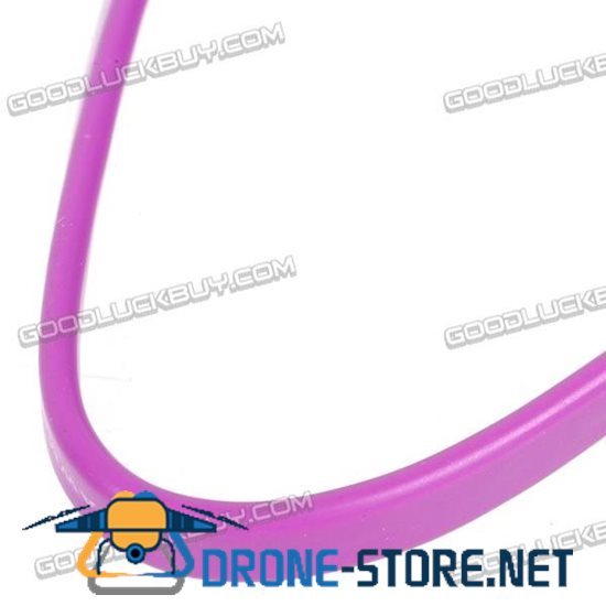 USB 2.0 to Micro USB 5 PIN Data Cable 30cm Purple