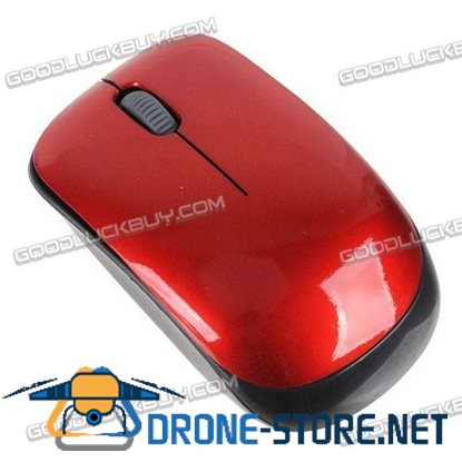 10M 2.4G Wireless Mouse For PC Laptop with Replacement Case