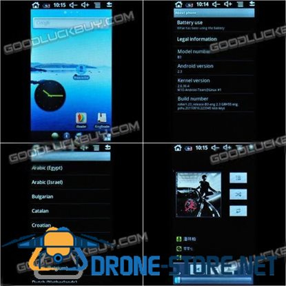 Benss B3PRO V7 Touch Screen Android 2.3 MP4 Mp5 Player Wifi HD Screen