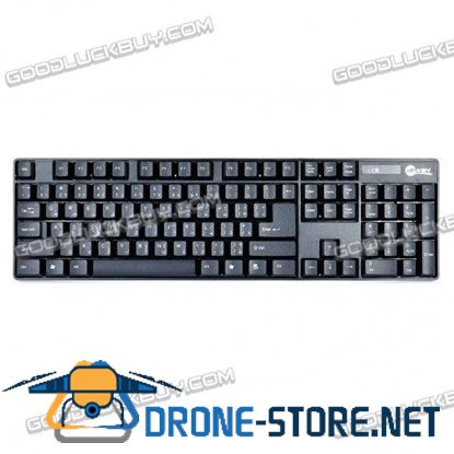 2.4GHz 104-Key Wireless Keyboard & 1800DPI Optical Mouse Combo
