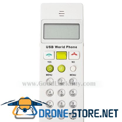 USB Phone Telephone LCD Internet Skype VOIP Handset for PC Laptop