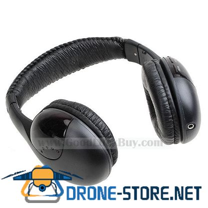 5 in 1 Wireless Headset Headphone Net Chat FM to TV PC DVD MP3 MP4