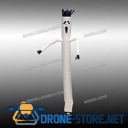 20ft Air Sky Inflatable Tube Puppet Wind For 18'' Blower Halloween Ghost Dancer