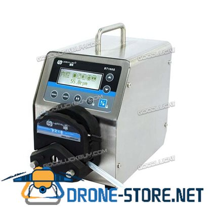BT100S Variable Speed Peristaltic Pump With YT25 Pump Head 1 Channel