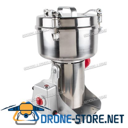 2Kg Herbal Medicine Pulverizer Grains Grinding Machine Herb Mincer Grinder