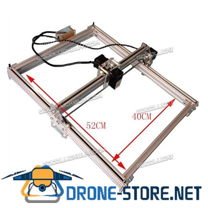 5500MW Laser Engraver Desktop Engraving Cutting Machine Printer 40*50cm