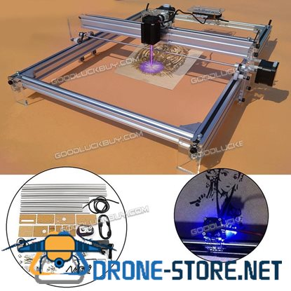 2000MW Laser Engraver Desktop Engraving Cutting Machine Printer 40*50cm