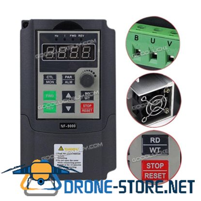 1.5KW NF-9000 Single Phase Input To 3 Phase Output Frequency Converter 2HP VFD VSD