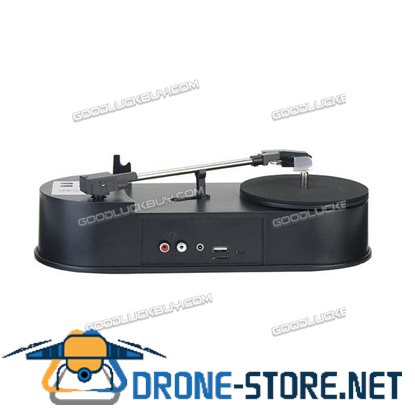 EZCAP 613 Mini Turntable Vinyl LP Record to MP3 USB Charge Converter SD Card Flash Drive