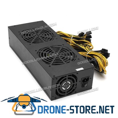 3600W Mining Power Supply Cooling Fans for A6 A7 S5 S7 B3 E9 L3+ R4 Miner