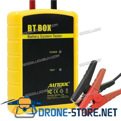 AUTOOL BT-BOX 12V Auto Battery System Tester IOS Android Bluetooth