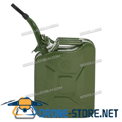 5 Gallon 20L Military Jerry Can Gasoline Fuel Storage Emergency Tank
