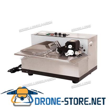 MY-380F Stainless Steel Auto Solid-ink Coding Machine Print Date label Code 110V
