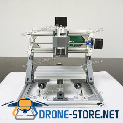 3 Axis 1610 DIY CNC Router Kit Wood Carving Engraver PCB Milling Machine+2500mw Laser