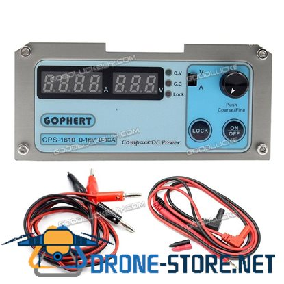 Gophert CPS-1610 Mini Adjustable DC Switching Power Supply 16V 10A