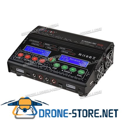 HTRC H150 300W AC DC DUO RC Car Drone UAV Lipo battery Balance Charger Discharger