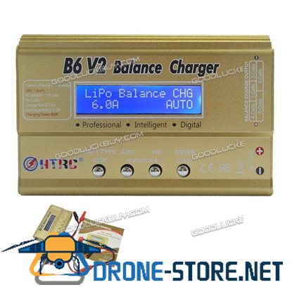 HTRC Imax B6 V2 80W RC Car Drone Balance Charger Discharger