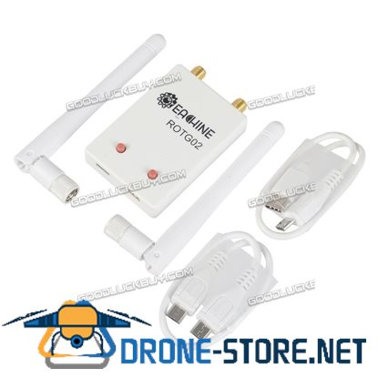 Eachine ROTG02 UVC OTG 5.8G 150CH Dual Antenna Audio FPV Receiver for Android Tablet Smartphone White
