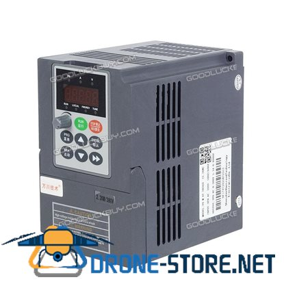 2.2KW Variable Frequency Drive Inverter Motor Speed Control 1 To 3 Phase 380V