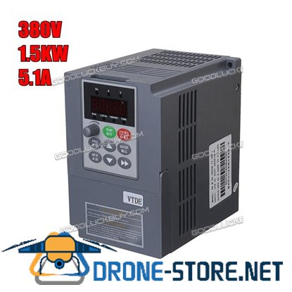 1.5KW Variable Frequency Drive Inverter Motor Speed Control 1 To 3 Phase 380V