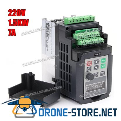 1.5KW Variable Frequency Drive Inverter Motor Speed Control 1 To 3 Phase 220V