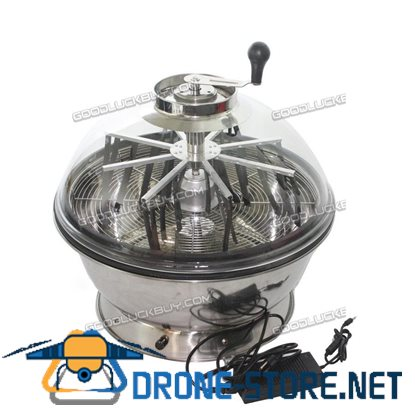 """19"""" Electric Hydroponic Bowl Trimmer Twisted Spin Cutter for Plant Bud Flower"""