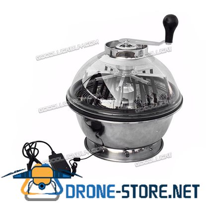 """16"""" Electric Hydroponic Bowl Trimmer Twisted Spin Cutter for Plant Bud Flower"""