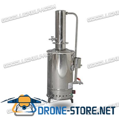5L Electro Thermostat Distilled Water Machine Stainless Steel Electric Heated