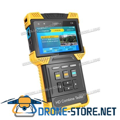 "4"" DT-T60 HD Combine Tester CCTV 1080P LED IPC Analog Camera Testing Monitor"
