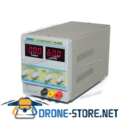 Yihua 605D Adjustable Linear Power Supply Variable Mode 60V 5A Fan Cooling Electronic Test