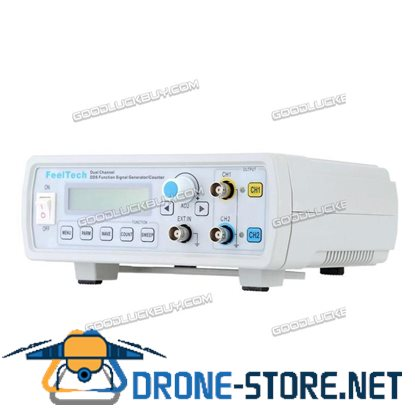 FY2206S 6MHz Dual Channel DDS Function Signal Generator Sine Square Wave Sweep Counter