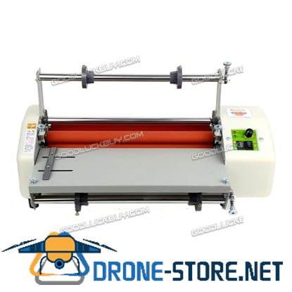 """New 13"""" A3+ Roll Laminator Four Roller Hot Cold Laminating Machine"""