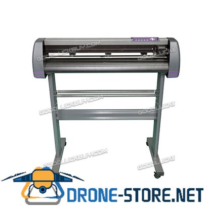 New MH870 Refine Vinyl Cutter Plotter Sign Writing Cutting Carving Machine Grey