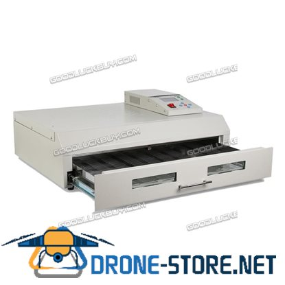 T962C Auto Infrared IC Heater Reflow Oven Micro-Processor Soldering SMD