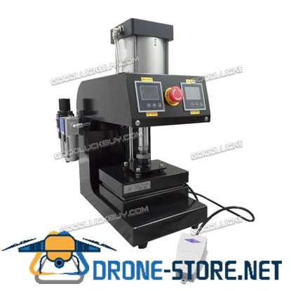 New CK1015-3 Pneumatic Rosin Press 5000psi 15*20cm Platen Dual Heating Machine